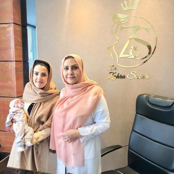 دکتر زهرا صابری و زایمان طبیعی
